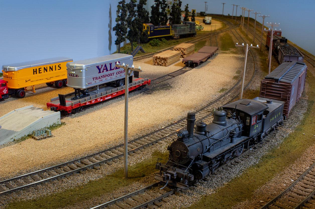 Pine Bluffs Freight Yard