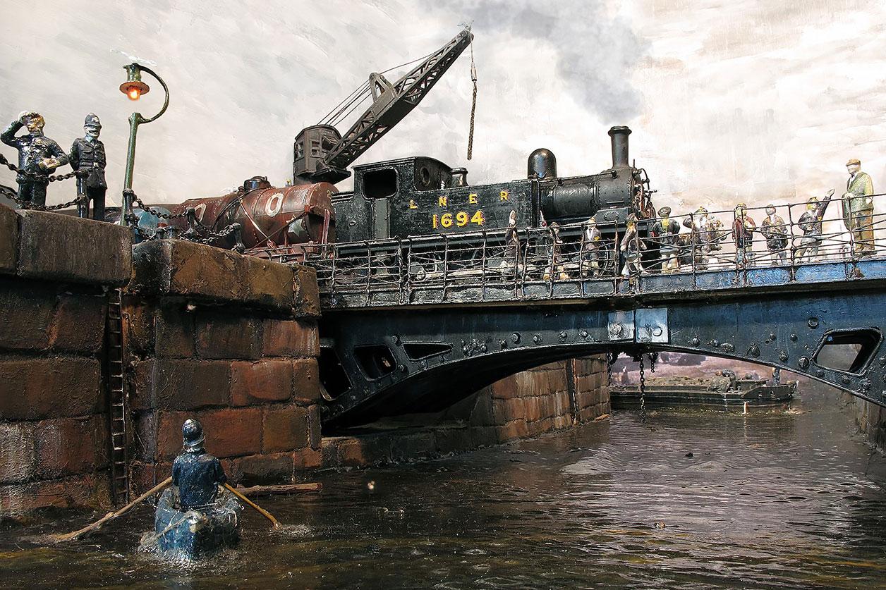 Trinity Dock Street Bridge